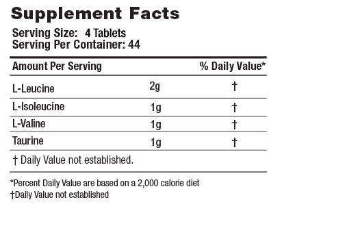 AALPHA Supplement Facts