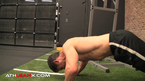 1 and a half rep divebomber pushup for shoulders