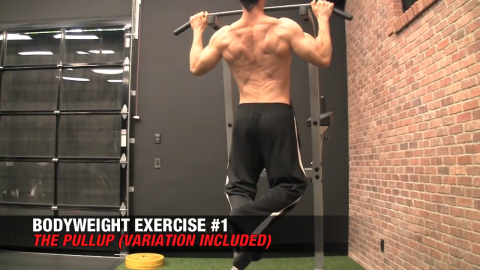 pullup best bodyweight exercise