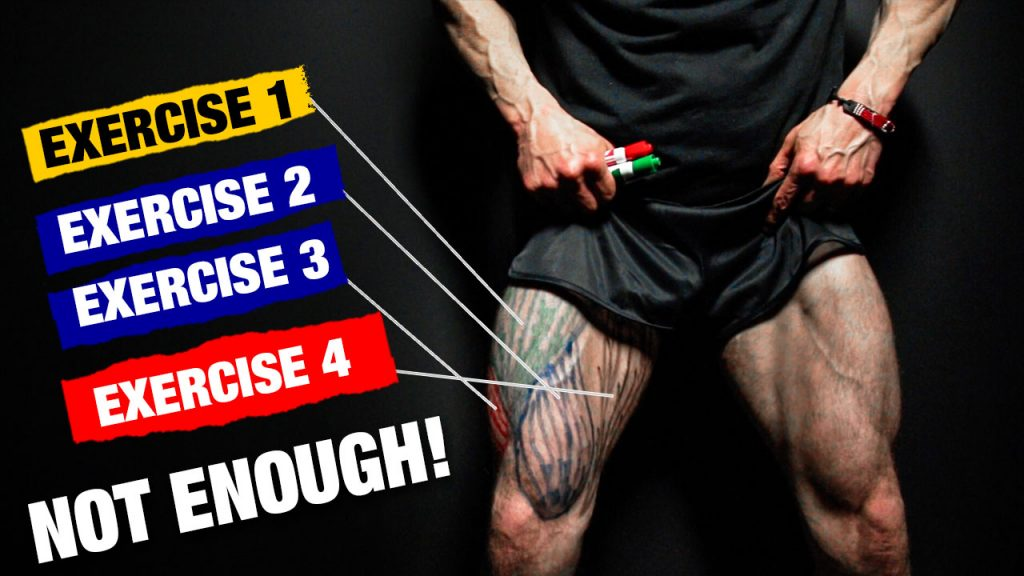 how to construct a complete leg workout
