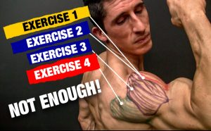 how to construct a complete shoulder workout