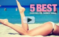 5 Best Moves for THINNER THIGHS!