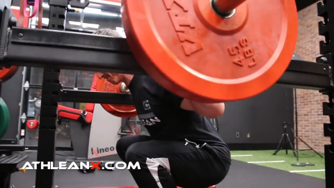 barbell squats exercise