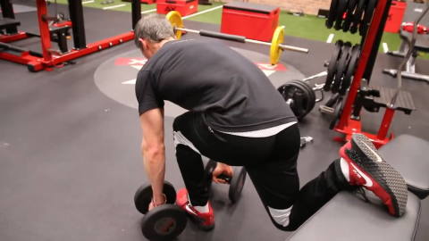 the sprinter lunge position in bulgarian split squats preferentially targets the glutes