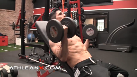 the incline curl is another curling exercise for the biceps