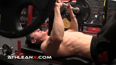 the close grip bench press works more than just the triceps