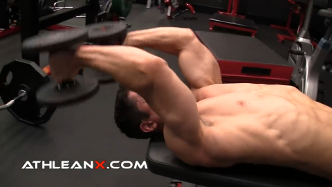 triceps extension exercise