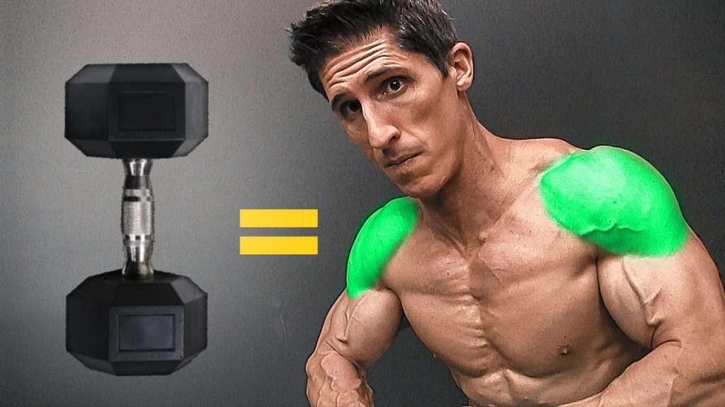 best dumbbell exercises for shoulders
