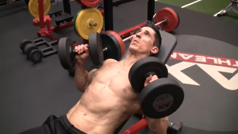 incline of flat bench press can be used for metabolic chest exercise