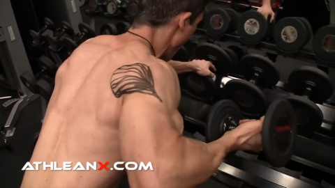 rear delt row for shoulders
