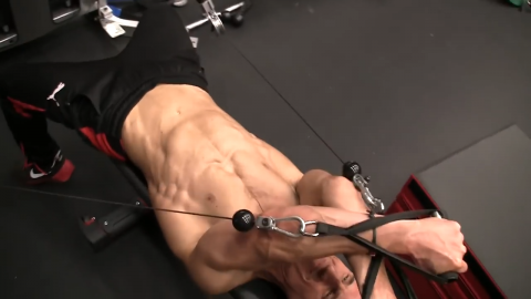 dual cable ucv raise upper chest exercise