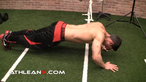 pushaway pushup upper chest exercise