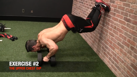 upper chest dip